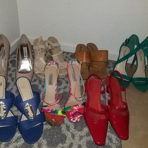 Lot of 7 shoes size 9-10